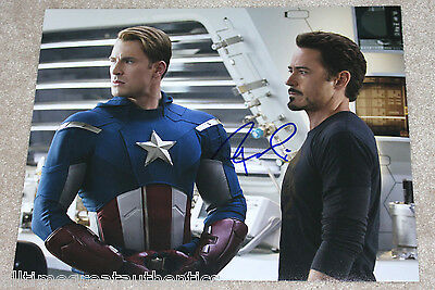 Robert Downey Jr. Signed The Avengers 'Tony Stark' 11X14 Photo W/Coa Iron Man