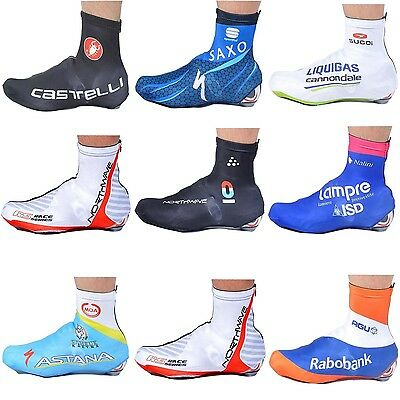 Multi Colors Bicycle Windproof Shoe Covers Bike Cycling Zippered Overshoes