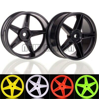 "RC 1/10 Car Off Road Buggy Front Rear 2.2"" Wheel Rim 06008 06024 For HSP Redcat"