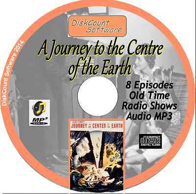 A Journey to the Centre of the Earth - 8 Old Time Radio Shows - Audio MP3 CD