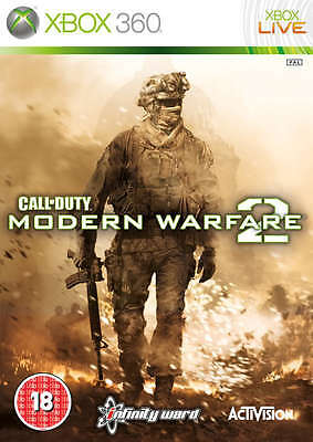 Call of Duty Modern Warfare 2 ~ XBox 360 (in Good Condition)