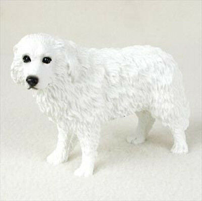 Great Pyrenees Hand Painted Dog Figurine Statue
