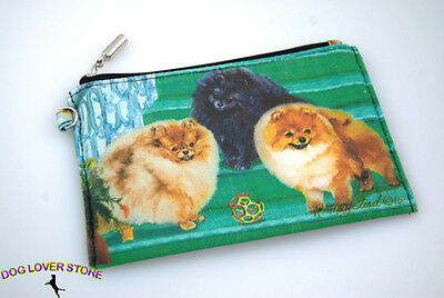 Pomeranian Travel Makeup Bag