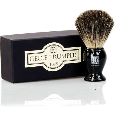 Geo F Trumper Black Badger Hair Shaving Brush