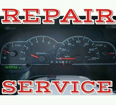 2003 ford f250 instrument cluster repair
