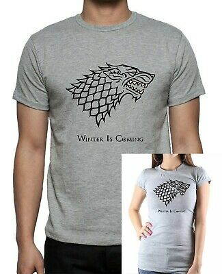 GAME Of THRONES : HOUSE STARK Sigil : Winter Is Coming T-Shirt