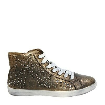 Gold and Gold - Sneakers borchie oro