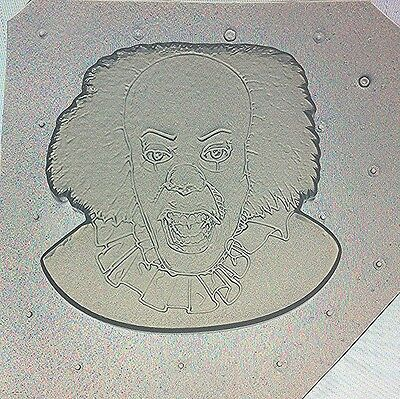 Flexible Resin or Chocolate Mold Scary Halloween Horror It Themed Clown