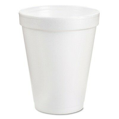 Dart Hot and Cold Insulated Foam Drinking Coffee Cups, 8 oz. 1,000 ct
