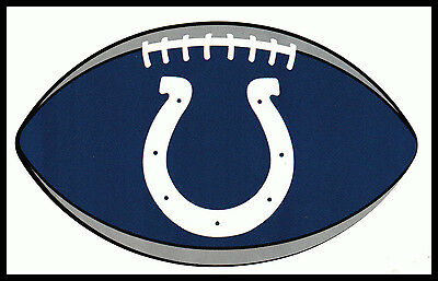 Indianapolis Colts Oval Football Nfl Decal Sticker Team Logo~Bogo 25% Off