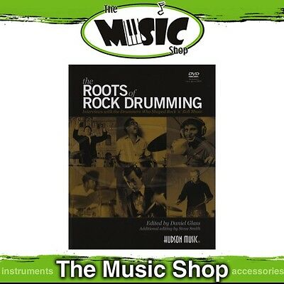 New The Roots of Rock Drumming Music Tuition Book & DVD - Drums Tuition