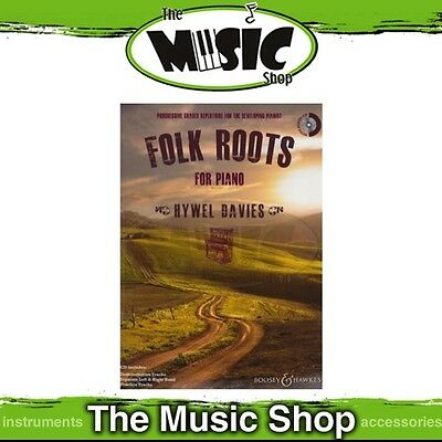 New Folk Roots for Piano Music Book & CD - 9 Folk Songs