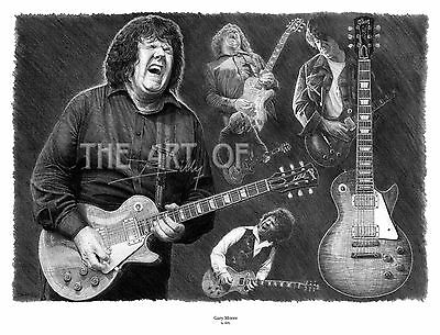 Gary Moore fine art print by Billy