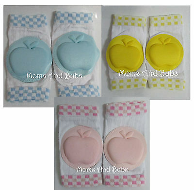 Baby Safety Knee Pad Kids Children Short Kneepad Crawling Knee Protector Apple