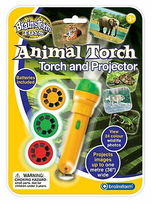 Children's Animal Torch and Projector Toy - Project Wildlife Nature Photos