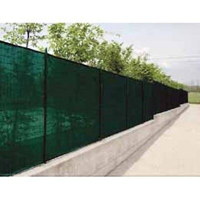 Tenax 2A120070 Green 7.8' x 150' Wind Screen Mesh Fence Cover Fabric Patio