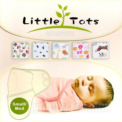 100% Cotton Baby Infant Summer Swaddle Easy Blanket Wraps Sleeping Bag 0-3 month