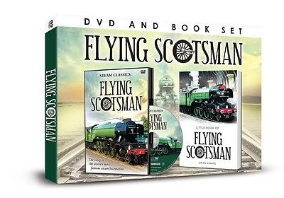 Flying Scotsman Book And Dvd Gift Set - Steam Classics Trains - Steam Locomotive
