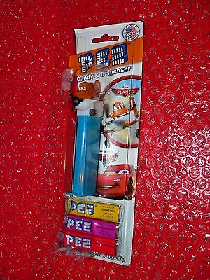 Pez   Dusty Cropduster on Disney Planes / Cars card