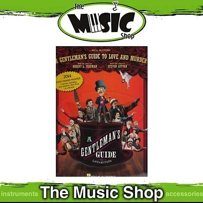 New A Gentleman's Guide to Love & Murder Vocal & Piano Selections Music Book