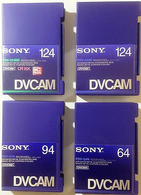 Sony Pdv-124Me Dvcam Pdv124Me Pdv-124N Pdv-94N Pdv-64N Dv Cam For Hdv Tape