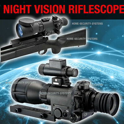Rifle Scope Riflescope Night Vision Hunting Trail Tracker IR Gen Professional