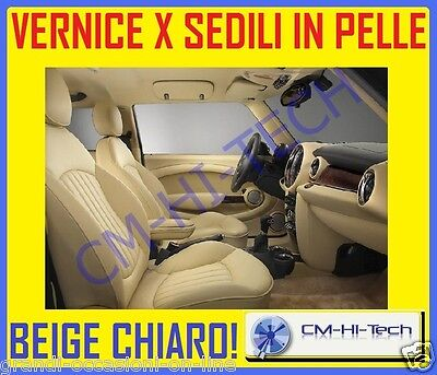 Vernice Tinta Colore Beige !! Kit Per Interni Sedili In Pelle Mercedes Seat Fiat