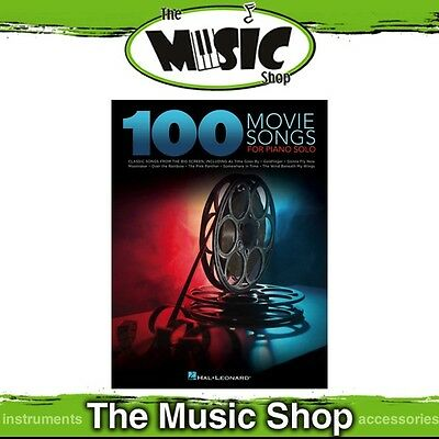 New 100 Movie Songs for Piano Solo Music Book - Piano Songbook