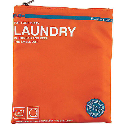 Flight 001 Go Clean Laundry - Orange Packing Aid NEW