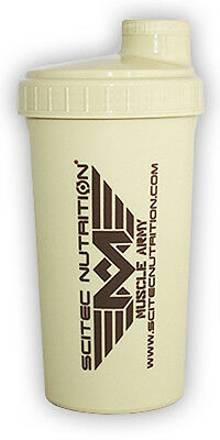 Scitec Nutrition Shaker Muscle Army Sabbia Militare 700 Ml Palestra Fitness New