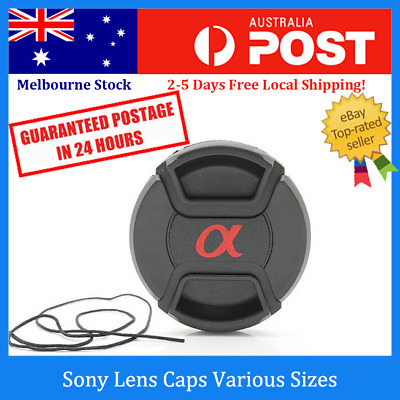 Sony Front Lens Cap with Snap-on Cover for 49 52 62 67 77mm Lenses