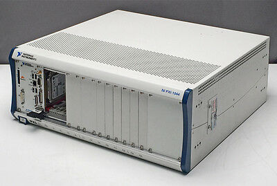 National Instruments NI PXI-1044 Chassis with NI PXI-8106 Embedded Controller