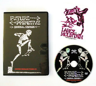 Powell Peralta Future Primitive Special Edition Old School Skateboard DVD New