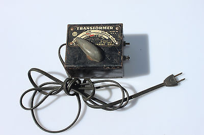 VINTAGE LOUIS MARX & Co TOY TRANSFORMER No. 1209 50 WATTS/60 CYCLES/110V