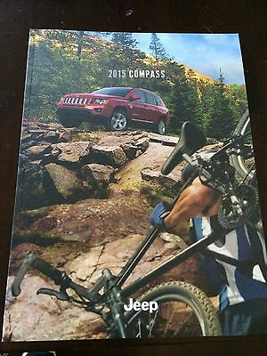 2015 Jeep Compass 44-page Original Sales Brochure