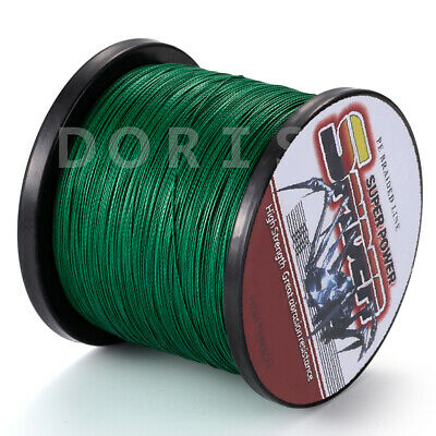 Spider Moss Green 100-2000M 6-300LB Top Strong Dyneema Braided  Fishing Line PE