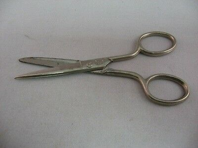 """Vintage Small 5"""" Scissors ~ Made in Germany ~ Palm Tree Logo ~"""