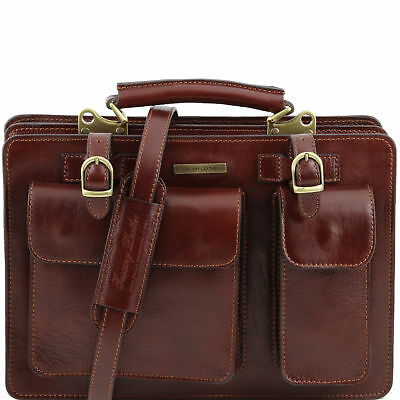 TUSCANY LEATHER lady handbag briefcase for women made in Italy