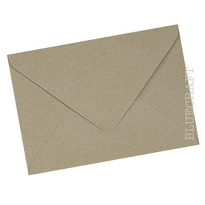 C5 A5 Brown Recycled Fleck Kraft Envelopes 100gsm - 6.37 x 9.01 inches