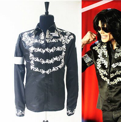 Rare MJ Michael Jackson Show This is it Black Crystal Press Conference JACKET