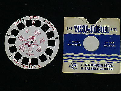 View Master Preview Reel Picture Tour of Classic Children's Stories  DR-58