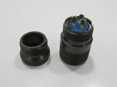 New Amphenol Industrial 97-3101A16-10P Circular Connector Rcpt, Size 16, 3Pos
