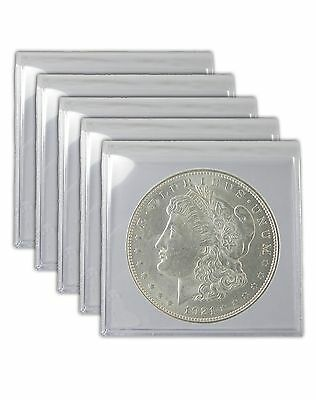 1921 Silver Morgan Dollar AU Lot of 5 Coins in About Uncirculated Condition S$1