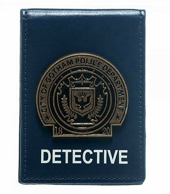 *NEW* DC Comics Batman Gotham Detective Badge Bifold Wallet