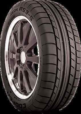 2 New 225/45R18 Inch Cooper Zeon RS3-S Tires 225 45 18 R18 2254518 45R