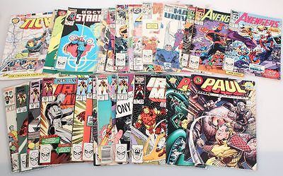 Large Lot Of 36 Comic Books From New England, Marvel   Dc Comic