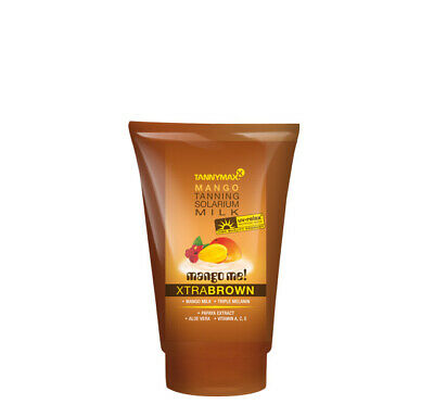 Tannymaxx Mango Me Xtra Brown Bronzing  Milk Sunbed Cream Tan Accelerator 50ml