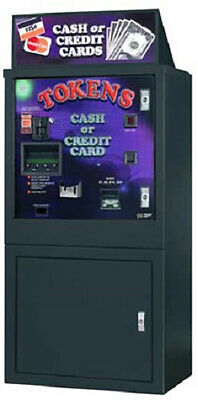 American Changer - AC6007 Cash or Credit Card Token Dispenser
