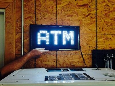 ATM Lighted LED Sign