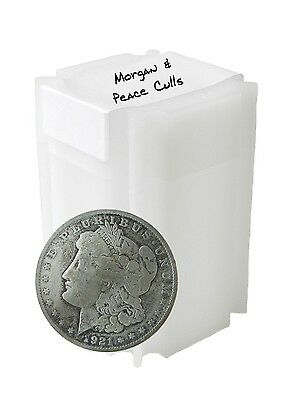 Silver Morgan and Peace Dollar Cull Lot of 10